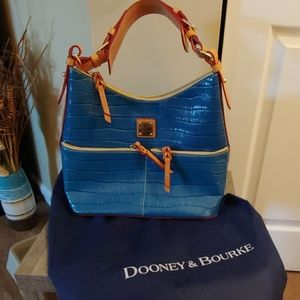 Dooney and Bourke Dillon leather hobo